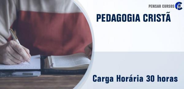 Saiba mais sobre o curso Pedagogia Cristã