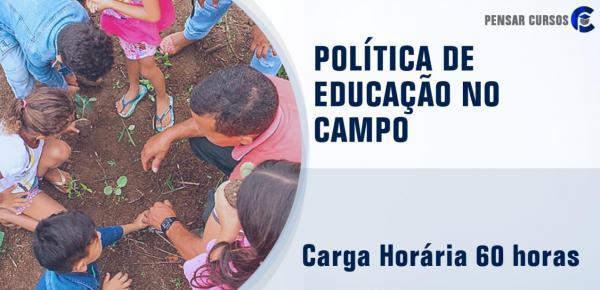 Saiba mais sobre o curso Politica de Educação no Campo