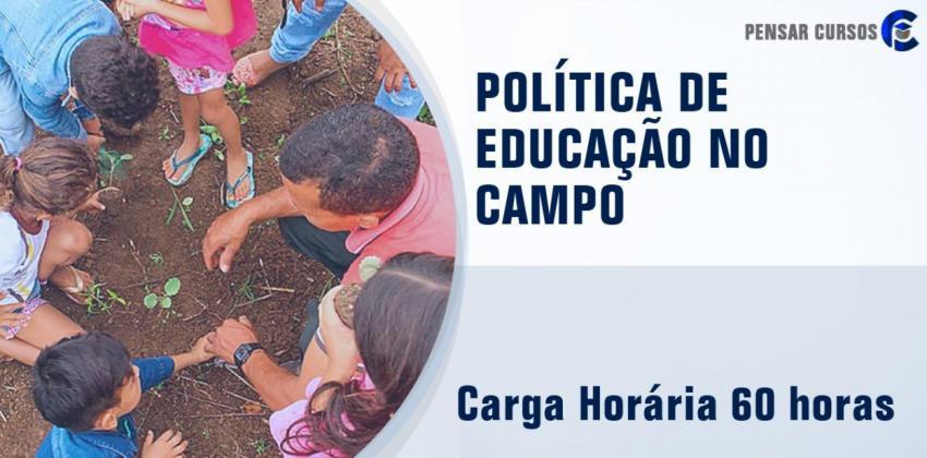 Politica de Educação no Campo