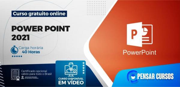 Saiba mais sobre o curso Power Point 2021