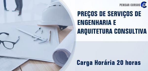 Saiba mais sobre o curso Preços de Serviços  de Engenharia e Arquitetura Consultiva