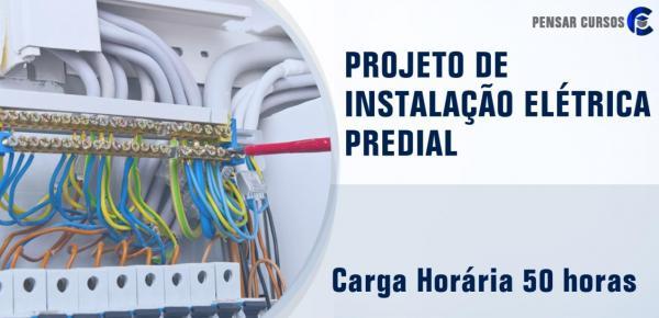Saiba mais sobre o curso Projeto de Instalação Elétrica Predial