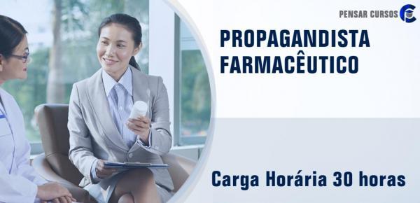 Saiba mais sobre o curso Propagandista Farmacêutico