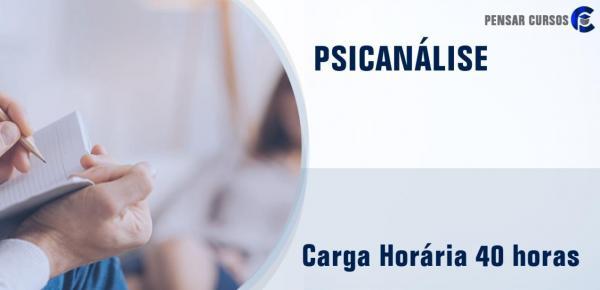 Saiba mais sobre o curso Psicanálise