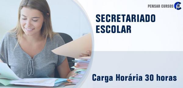 Saiba mais sobre o curso Secretariado Escolar