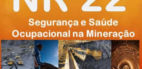 Saiba mais sobre o curso Segurança e Saúde Ocupacional na Mineração   NR 22