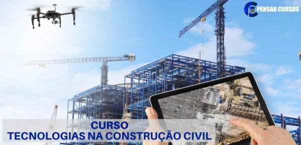 Saiba mais sobre o curso Tecnologias na Construção Civil