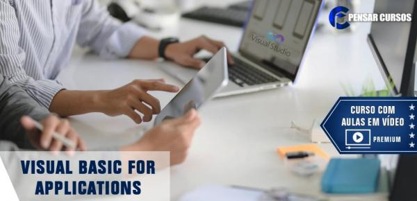 Saiba mais sobre o curso Visual Basic for Applications