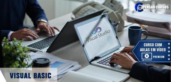 Saiba mais sobre o curso Visual Basic